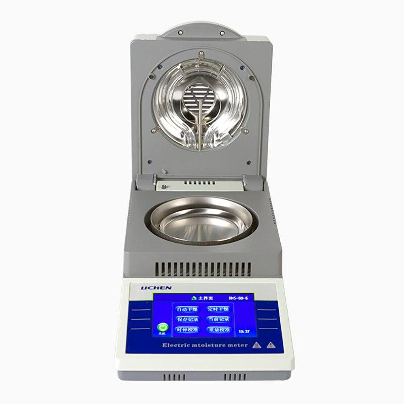 Meetinstrument DHS 10A Vocht Analyzer Thee Hout Water Mais Graan Halogeen Vocht Tester - 5