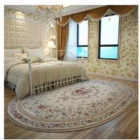 160X230CM Pastoral Oval Carpets For Living Room American Countryside Home Bedroom Rugs And Carpets Coffee Table Area Rug/Doormat