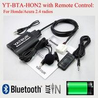 Yatour BTA Car Radio Bluetooth Hands Free Kit For Honda Accord Civic CRV Odyssey Pilot Fit