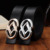 Nova Moda Grande mulher cinto de couro Genuíno Cintos Cowskin Mulheres Qualidade Superior Da Liga De Metais Fivela Cinta Feminina 95-120 cm Preto Vermelho