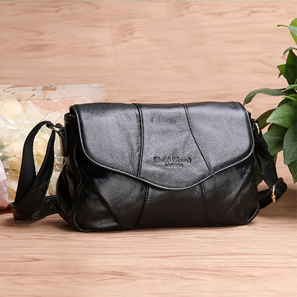 New Women Shoulder Bag Made Of Genuine Leather Ladies Satchel Real First Layer Cowhide Cross Body