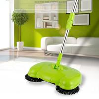 YiJiA Pushing Sweeper Vacuum Cleaner Household Floor Cleaner Manually Cleaning Machine Broom No Need Bend Over