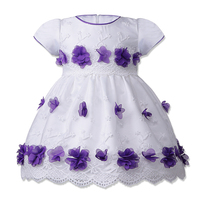 BAOHULU Flowers Girl Dress Summer Baby Girls Dresses Vestidos Wedding BirthDay Party Wear Children Clothing For