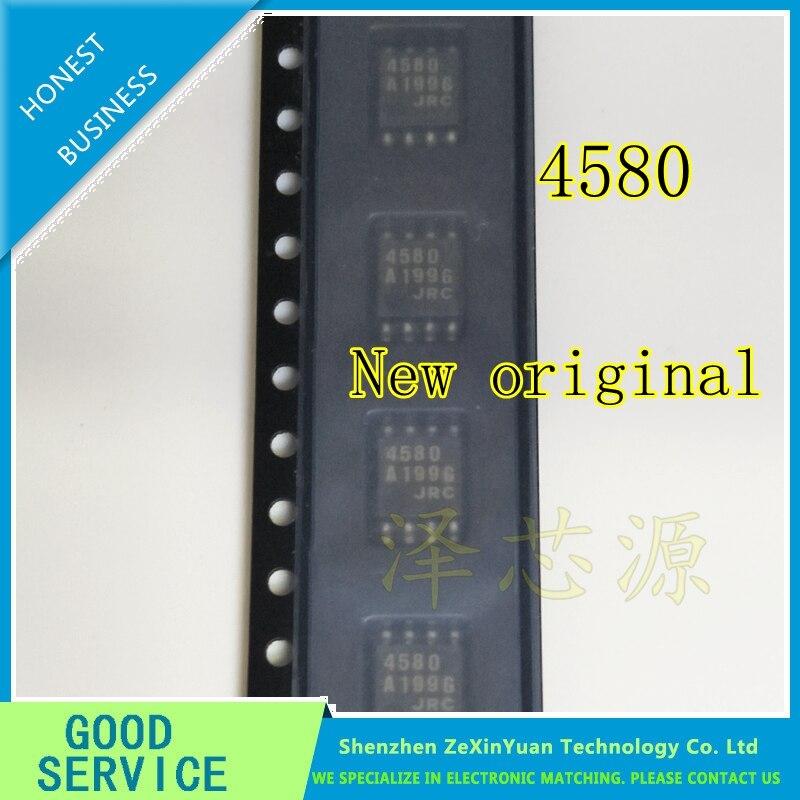 20PCS/LOT NJM4580M 4580M JRC4580M JRC4580 4580 SOP-8