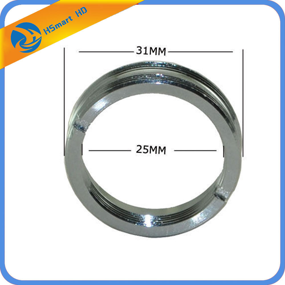 Aluminum C Mount Board Lens Male To CS Male Thread Adapter Ring Extension Tube