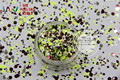 RFM321-194  Mix Colors Dot shapes round  Glitter for nail art ,nail gel,makeup and DIY decoration