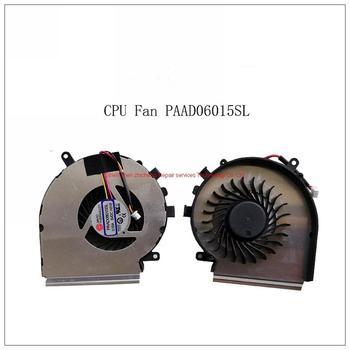 Para MSI GE62VR GP62MVR MS-16J9 MS-16JB ventilador CPU ventilador GPU refrigeración disipador térmico con ventilador
