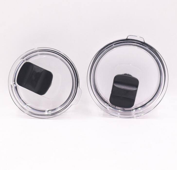 20pcs High Quality Crystal Clear MagSlider Lid for 30oz 20oz Tumbler Cup Replacement lids