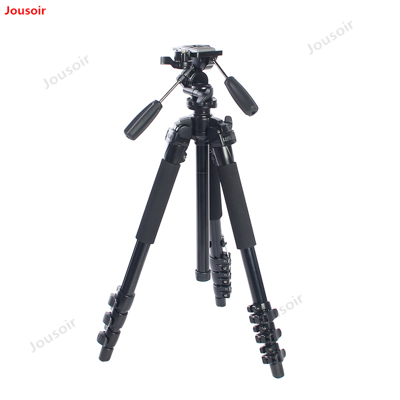 CK7316A camera tripod SLR portable tripod photography monopod 3D PTZ travel professional CD05 T03(China)