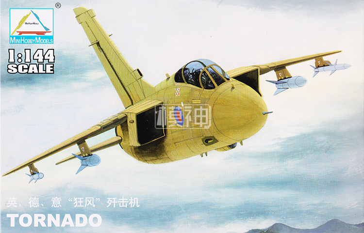 1: 144 British/Germany/Italy Tornado Fighter Military Aircraft Assemble Model 80414