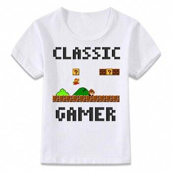 T-shirt Enfants Gamer classique Unisexe