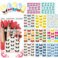 2015 NEW 20sheet /lot Zipper Water decals France Nail Art Stickers Nail water nail sticker for sticker decal +Separate Packed
