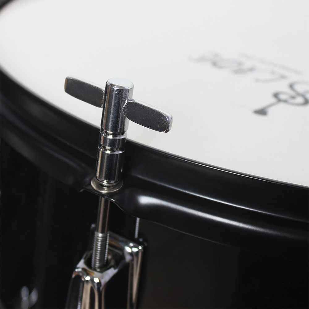 Universal de Metal palos de tambor de piel de afinación sintonizador sólido duradero Plaza zócalo de piezas y accesorios