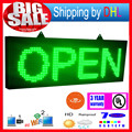 39X14 inch P10 outdoor full color LED sign wireless and usb programmable rolling information  1000x360MM led display screen