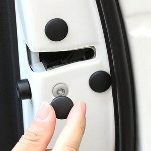 12pcs Car Door Lock Screw Protector Cover Accessories For Mitsubishi Outlander ASX Lancer EX L200 Mirage Pajero Galant(China)
