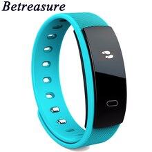Betreasure BW09 Bluetooth Smart Браслет сердечного ритма умный Браслет Приборы для измерения артериального давления мониторинг сна умный группа PK mi Группа 2