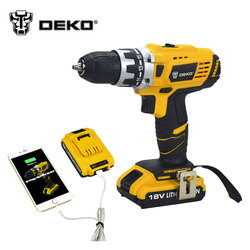 Deko 18v dc new design mobile power supply lithium battery cordless drill power tools mini drill.jpg 250x250