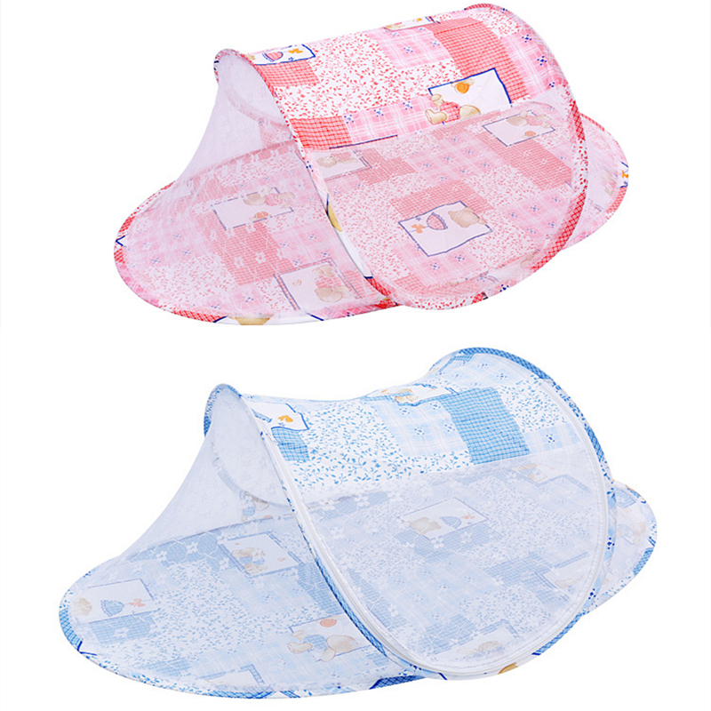 2019 Summer Baby Cradle Mosquito Insect Net Folding Baby Crib Mosquito Net For 0-2 Years Baby Infant Bedding Crib Netting Mesh