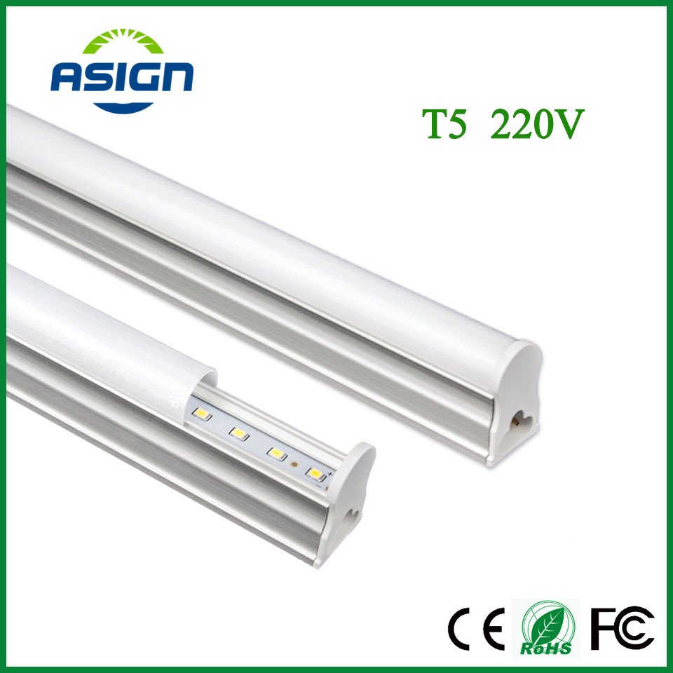 LED Tube T5 Light 6W 10W LED Fluorescent Tube LED T5 Tube Lamps T5 Integrated 200V~240V warm white Light Lampara Ampoule indoor
