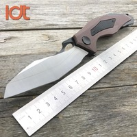 LDT 0427 Folding Knife D2 Blade G10 Handle Tactical Hunting Ball Bearing Knife Pocket Survival Camping Outdoor Knives EDC Tools|knife pocket|knife edc|d2 blade -