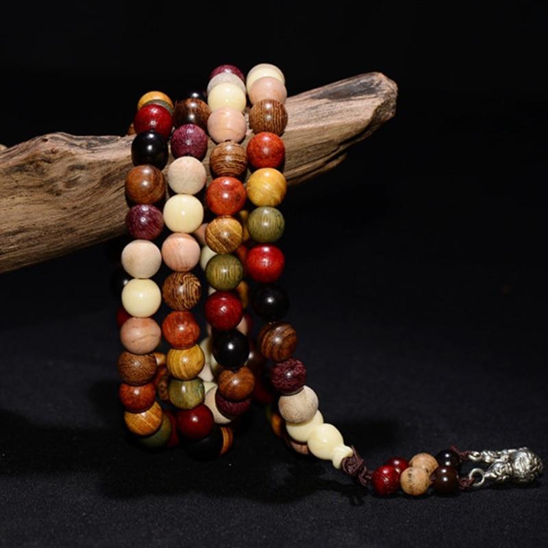 108 Bead Sandalwood Mala Beads 4