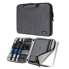 "iCozzier 11.6/13/15.6 Inch Handle Electronic accessories Laptop Sleeve Case Bag Protective Bag for 13"" Macbook Air/Macbook Pro"