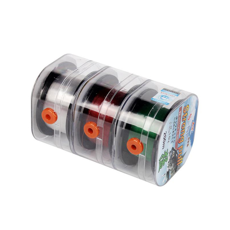 Fishing-Line Germany-Material Strong-Pull Monofilament-Quality Nylon 200m Sight for 10-50LB