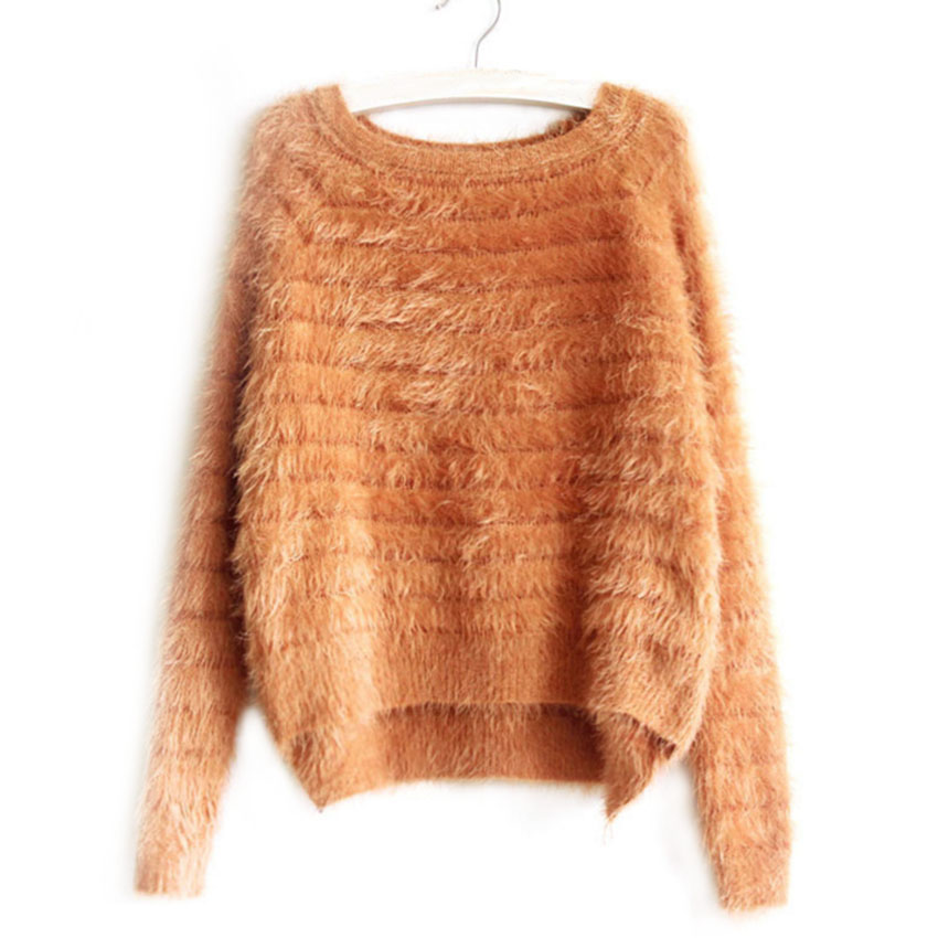 Meetcute Autumn Fashion Cashmere Sweater for Pregnant Women Popular Design Asymmetric Sweater Pullovers