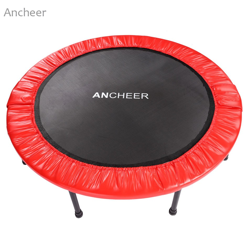 New Ancheer Outdoor Trampolin Gartentrampolin Jumper Gymnastic Ultrasport Fun Exercise Rebound ancheer new x shape folding magnetic upright exercise bike with pulse fitness equipment 100kg magnetic upright exercise bike