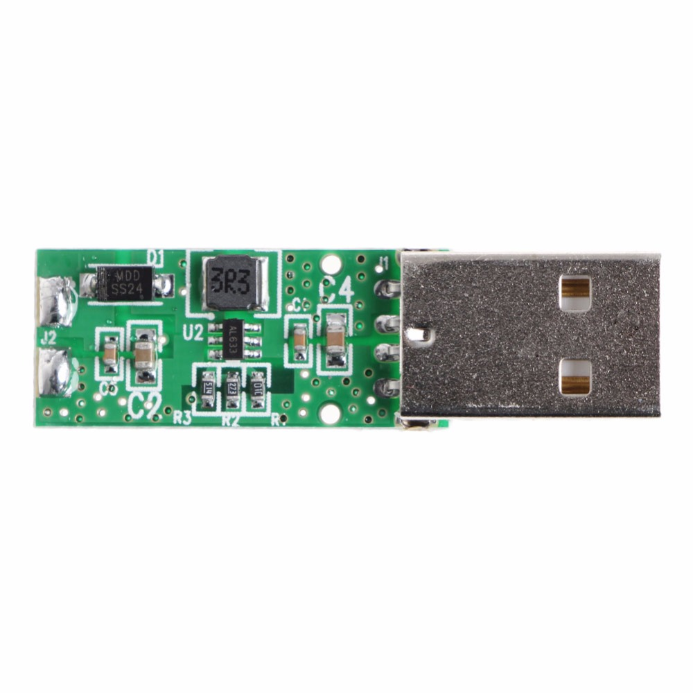 DC-DC 5V To 12V USB Converter Boost Step Up Power Module Voltage Rating 5W Integrated Circuits