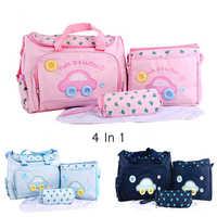 5 unids/set bolsa de pañales bolsa de cambio de pañales bolsa de almacenamiento para silla de ruedas Yoya accesorios para cochecito de bebé mamá bolsa de maternidad para bebé