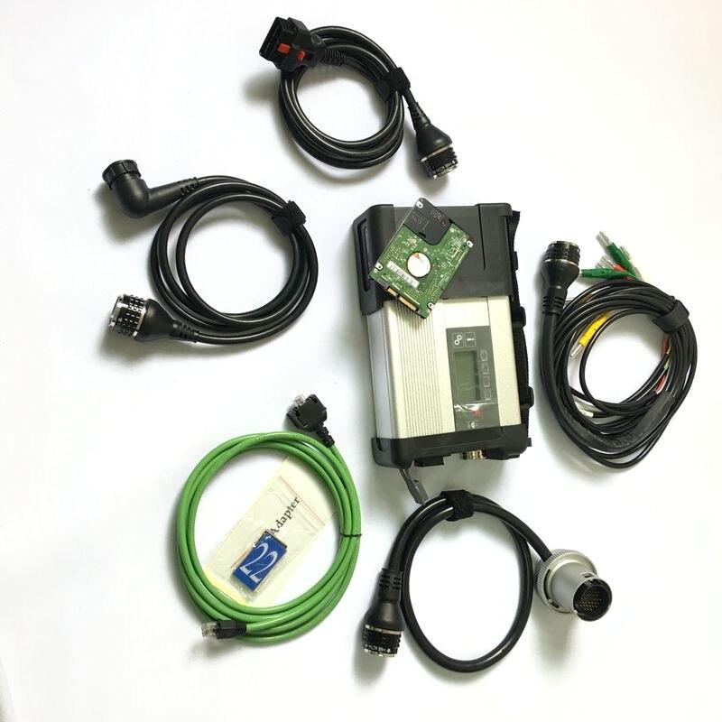 2019 Wifi MB Star C5 SD Connect Compact 5 Strumento di Diagnostica Con Il Software V2019.07 Ultima Versione HDD Multi-lingue DEVIAZIONE STANDARD di MB C5