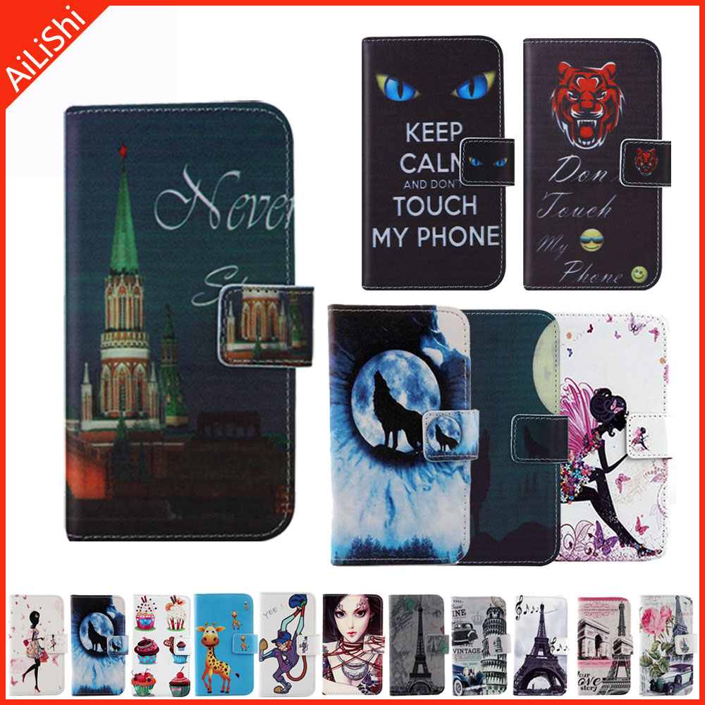 Fundas Flip Protect Leather Cover Shell Wallet Etui Skin Case For Highscreen Power Four WinWin Verge Ice Evo Five Max Razar Pro