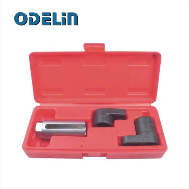 "3 Piece 3/8"" Drive Oxygen Sensor Wrench Socket Set"