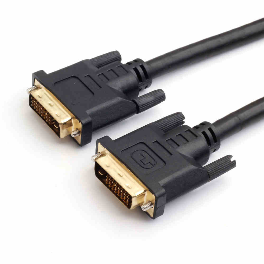 1M,1.5M,3M Black Color DVI-D Dual-Link(24+1) Male to Male Digital Video Cable for Graphics Video Card monitor HDTV 1080p, image