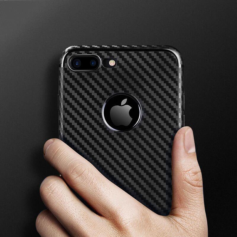 Untuk IPhone7 7 ditambah kasus shell ponsel pola serat karbon - Aksesori dan suku cadang ponsel - Foto 3