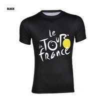 ツール·ド·フランスレーシングプロサイクリングジャージ男性自転車スポーツ摩