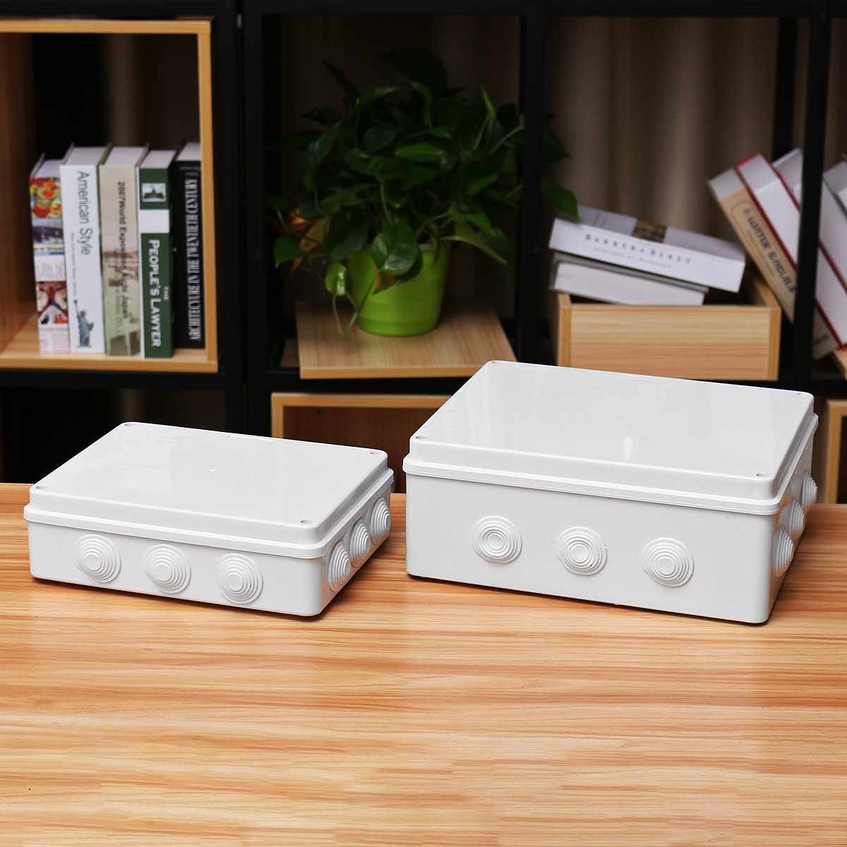 Waterproof Junction Box ABS Plastic IP65 DIY Outdoor Electrical Connection Box Cable Branch Box 300X250X120mm
