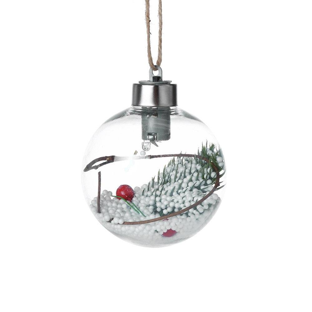 Fashion Christmas Tree Pendant Hanging Home Ornament Christmas Decoration Ball