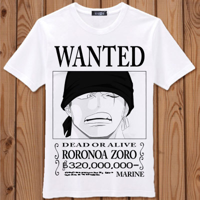 One Piece Luffy Cosplay Tshirt