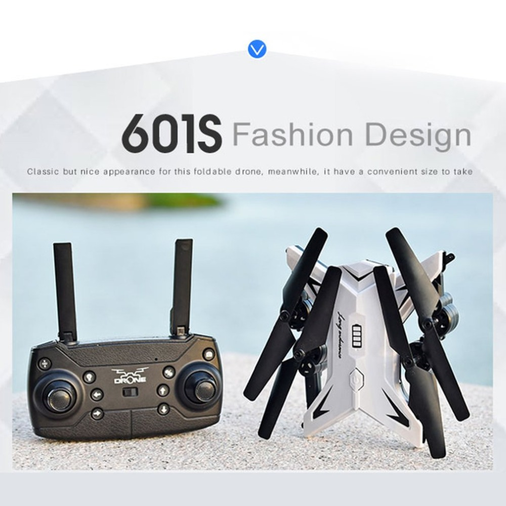 KY601S Full HD 1080P 4 Channel Long Lasting Foldable Arm Remote Control quadrocopter with camera Drone WIFI timely transmission in Camera Drones from Consumer Electronics