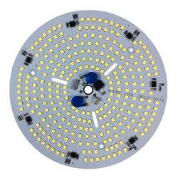 KINLAMS مصباح ليد عالي الإضاءة بحجيرة مقعرة AC220V 150 W وحدة SMD2835 ضوء الخرز الذكية IC ل LED السقف مصباح تعدين الصناعية ضوء ل DIY