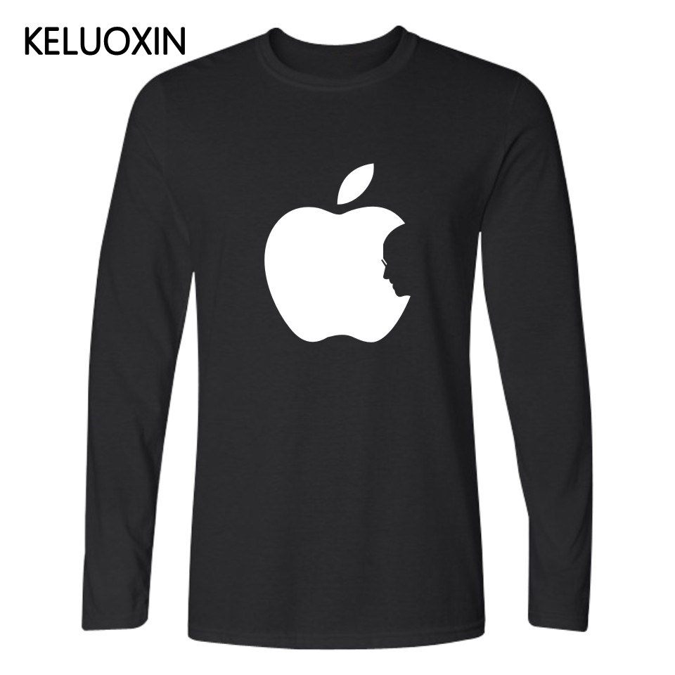 Design t shirt brand - Steve Jobs Apple Design T Shirt For Men Steve Jobs T Shirt Xxxxl Cotton Tshirt Tee Shirts Top Black Apple Design Brand Clothing