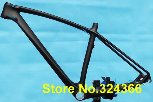 """29ER - Full carbon Matt MTB mountain bike frame  Headset . SIZE :  17"""""""