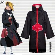 Naruto Cosplay Costume Akatsuki Cloak Hoodie Naruto Uchiha Itachi Anime Cosplay Costume