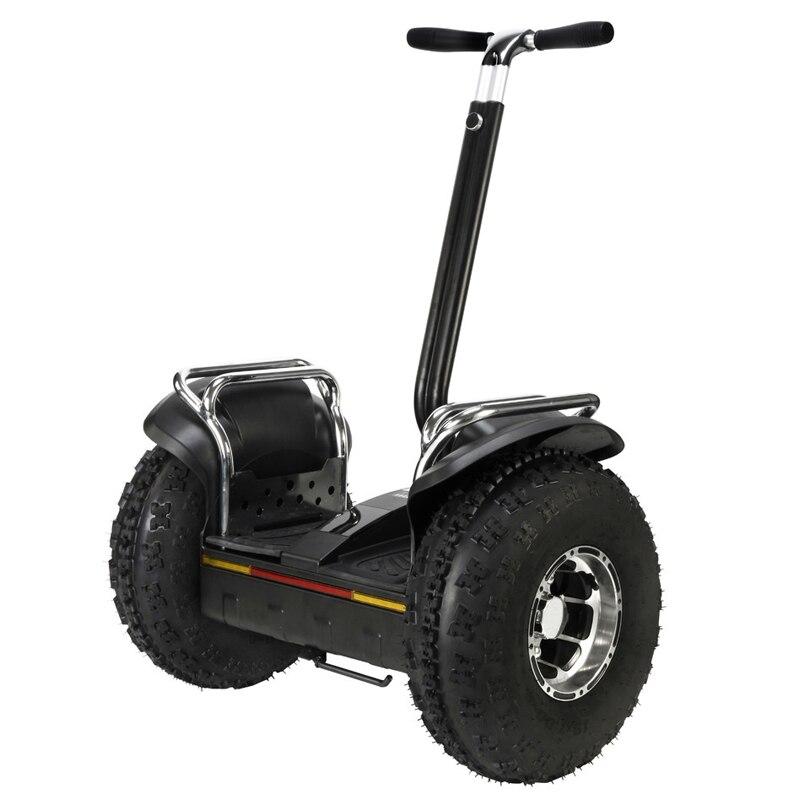 19 pollice hoverboard scooter elettrico 2 ruote off-road di skateboard elettrico Ad Alta Potenza scooter potere duraturo hover bordo