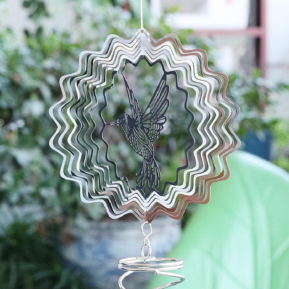 Hot-Selling Stainless Steel Wind Chimes Can Be Used For Home Garden Decoration And Beautification