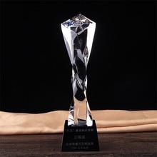 Customizable Oscar Statuette Academy Awards Trophy Cup Crystal Craft Decoration Souvenir Game Prank Prize Crafts