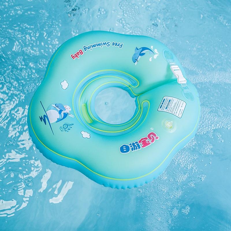 Nouveau bébé anneau de bain anneau de cou infantile gonflable - Activité et équipement pour enfants