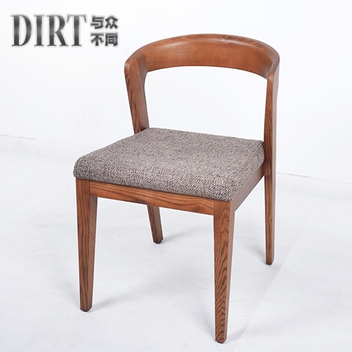 Simple Scandinavian Wood Dining Chair Dinette Chairs Creative